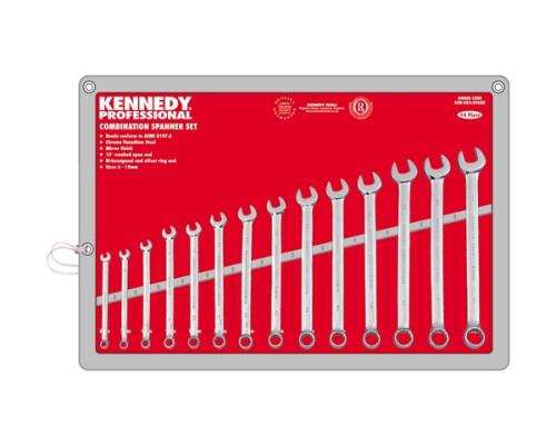 Sada očkoplochých klíčů Kennedy Professional, 6-19mm, 14ks