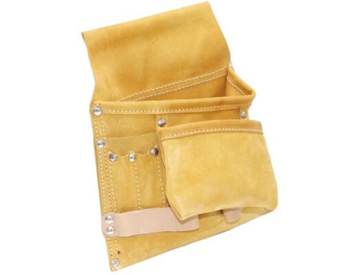Kombinovaná kožená kapsa na opasek, 280x270mm