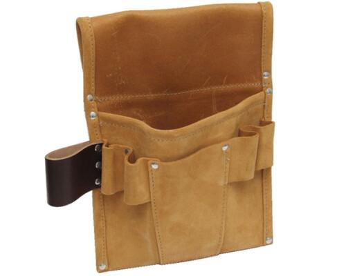 Kombinovaná kožená kapsa na opasek, 290x200mm