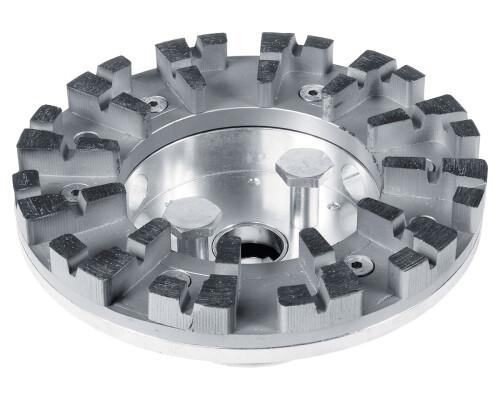 Nástrojová sanační hlava na broušení betonu DIA HARD-RG 150