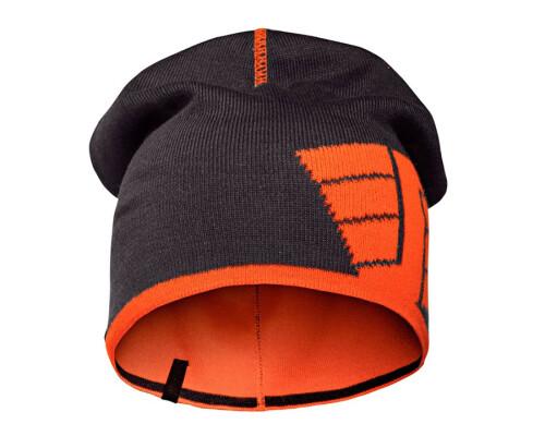 Čepice - kulich oboustraný, oranžový