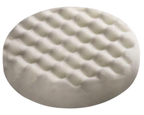 Leštící houba zvlněná bílá PS-STF-D 80x20-F-GEW/5 (5ks)
