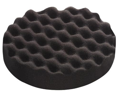 Leštící houba velmi jemná zvlněná černá PS-STF-D 80x20mm (5ks)