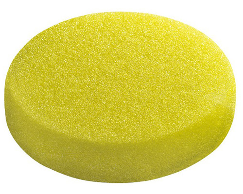 Leštící houba, hrubá, žlutá PS-STF-D 80x20-G/5, (5ks)