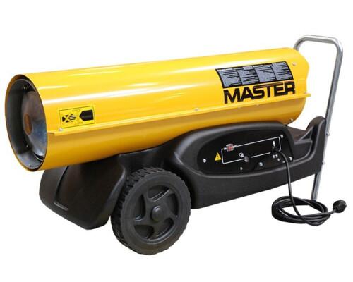 mobilní naftové topidlo s přímým spalováním Master B 180, 48kW