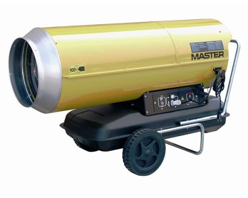 mobilní naftové topidlo s přímým spalováním Master B 230, 65kW