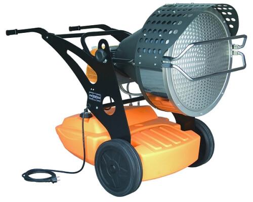 mobilní naftové infračervené topidlo Master XL 9 SR, 29-43kW