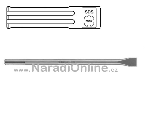 sekáč SDS MAX, plochý, STANDARD, 400mm