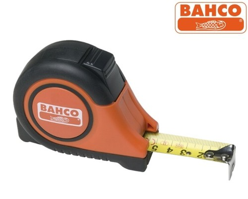 Svinovací metr Bahco MTB-5-25, 5m