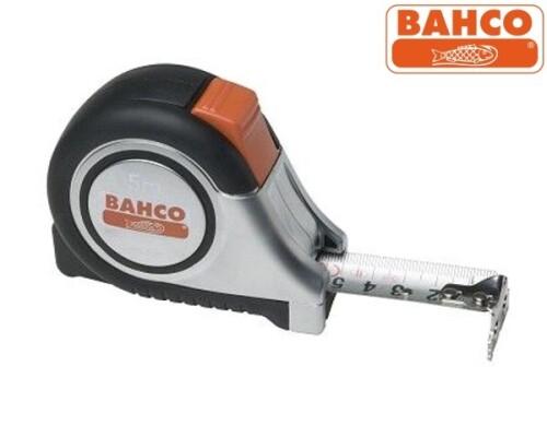 Svinovací metr nerezový-inox Bahco MTS-8-25, 8m