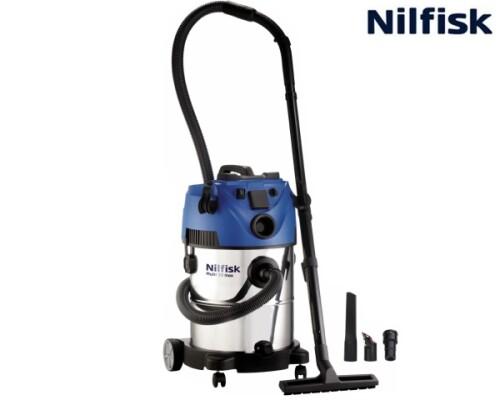 vysavač pro mokrosuché vysávání, NILFISK Multi 30 T VSC INOX