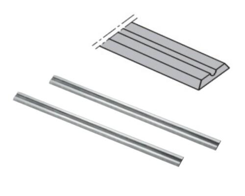 nože do hoblíku oboustranné, 82x5,5x1,1mm, (pár)