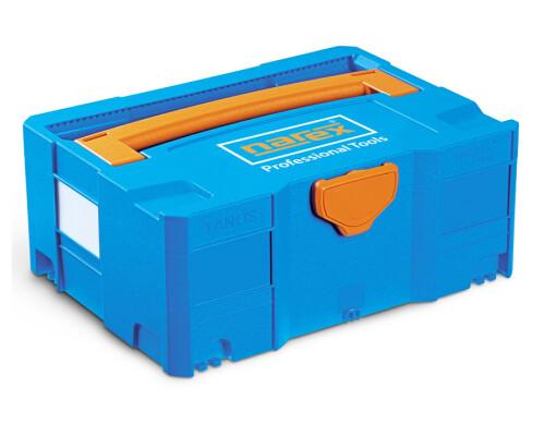 Systainer T-LOC systémový kufr Narex, modrá barva, SYS-TL3
