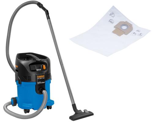 Průmyslový vysavač s čištěním filtru Narex VYS 30-71 AC + 5x sáčky