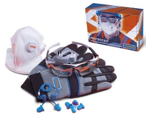 Sada pracovních ochraných pomůcek Narex Protect-kit, 11ks