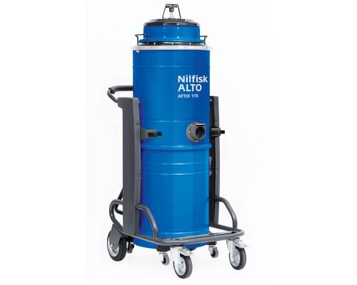Průmyslový třímotorový vysavač Nilfisk-Alto Attix 115-01