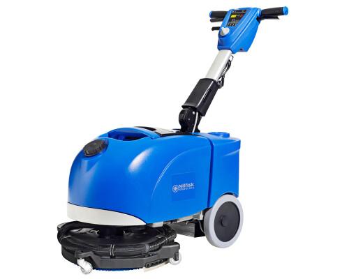 Podlahový mycí stroj ručně vedený, bateriový, Scrubtec 337.2