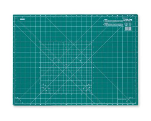 Řezací podložka zelená Olfa CM-A2, 62x45cm, 2mm