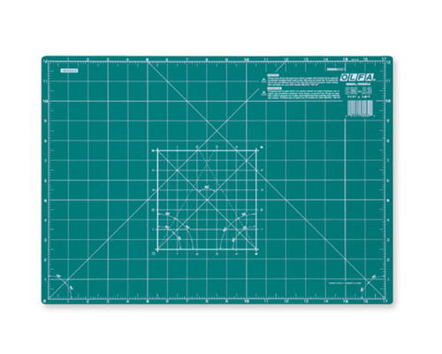Řezací podložka zelená Olfa CM-A3, 45x32cm, 2mm