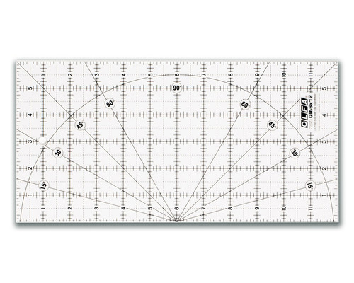 Akrylové pravítko pro Patchwork Olfa MQR 15x30cm