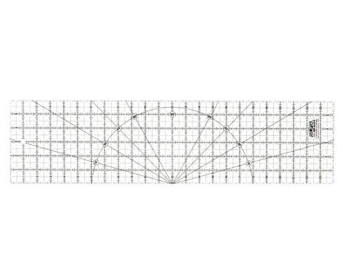 Akrylové pravítko pro Patchwork Olfa MQR 15x60cm
