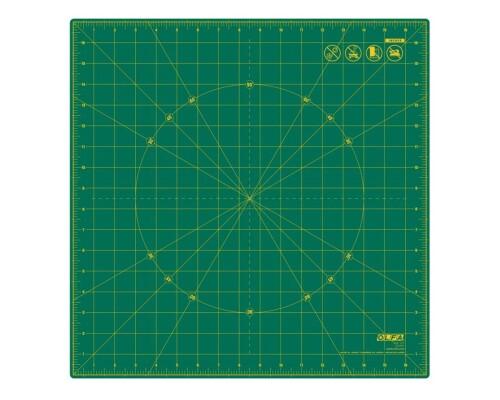 """Rotační řezací podložka zelená Olfa RM-17S, 17x17"""""""