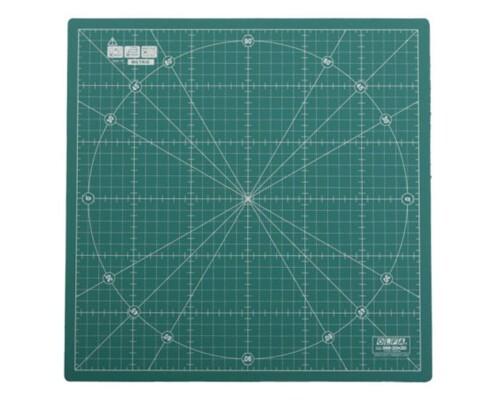 Rotační řezací podložka zelená Olfa RM-30x30, 30x30cm