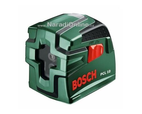 stavební křížový laser, BOSCH, PCL 10