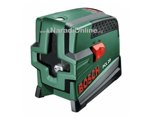 stavební křížový laser, BOSCH, PCL 20
