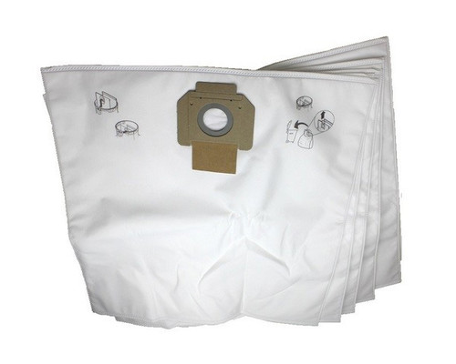 Filtrační sáček PET fleece pro vysavače Nilfisk Attix 7-9, (5ks)