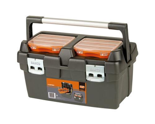 Plastový box pro nářadí s vložkou a organizery, 500x295x270