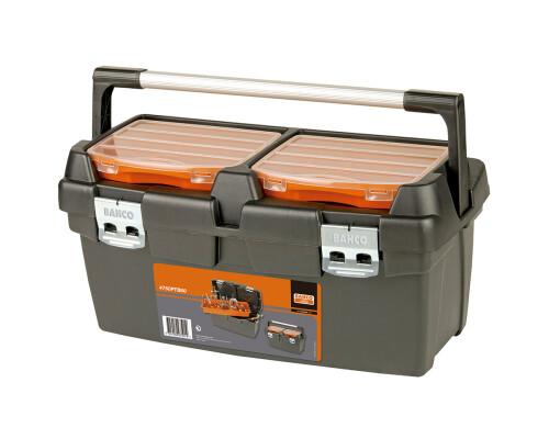 Plastový box pro nářadí s vložkou a organizery, 600x305x295
