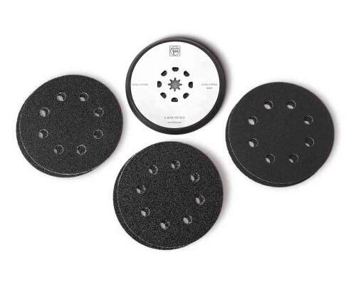 Podložný talíř 115mm pro oscilační brusky FMM + brusivo (6ks)