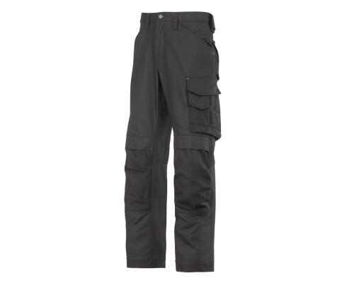 Pracovní řemeslnické kalhoty Canvas+, černá, velikost 058