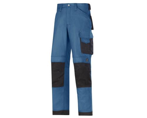 Pracovní řemeslnické kalhoty Canvas+, modrá, velikost 056