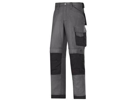 Pracovní řemeslnické kalhoty Canvas+, šedá, velikost 054