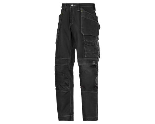 Pracovní řemeslnické kalhoty ComfortCotton, černá, velikost 058