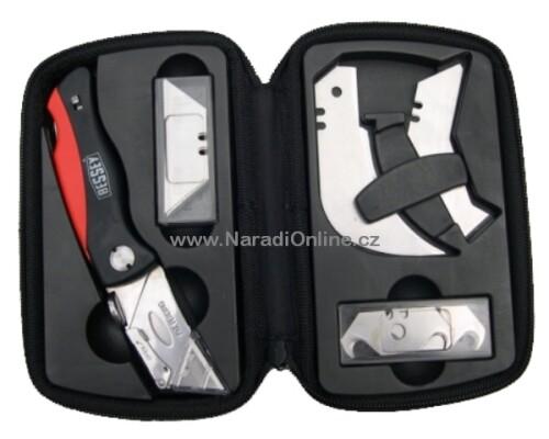 zavírací řemeslnický nůž, BESSEY, 19 ks