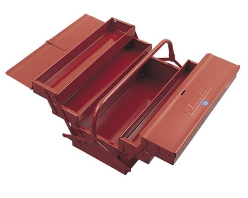 Plechový box rozkládací s pákovým mechanismem 430x205x205mm