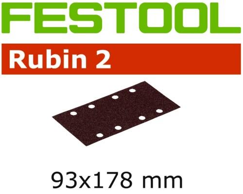 brusný papír RUBIN 2, STF 93x178/8, P60, 50ks