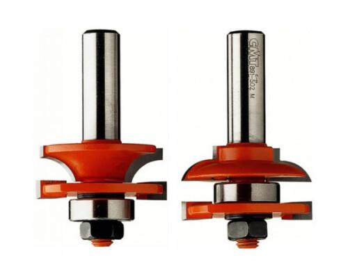 Sada fréz pro rám výplně, profil C, D44,4mm, t 18-22mm, R6, S12