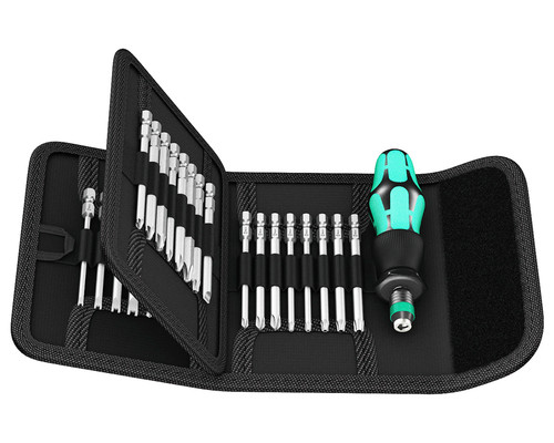 Sada servisních bitů Wera Kraftform Kompakt 62, 89mm, 32+1ks