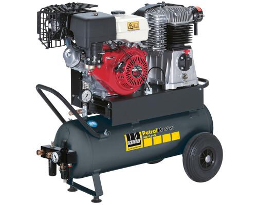 Mobilní kompresor s benzínovým motorem PetrolMaster PEM 500-15-50 B