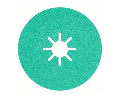 Vulkanfíbrový brusný kotouč zirkon-korund, zelený, Inox, 115mm, P060