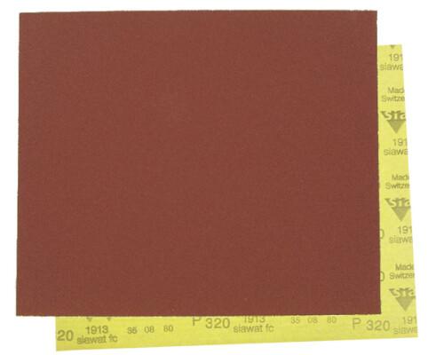 brusný papír pod vodu, 1913, arch 230x280mm, P60
