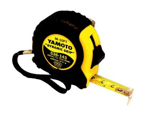 Svinovací metr, pogumovaný Yamoto, 5m