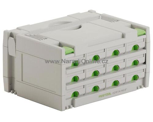 Systainer Festool sortainer SYS 3-Sort, 12 zásuvek