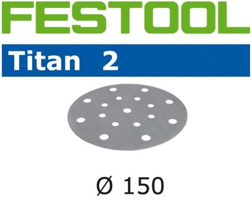 brusný výsek, FESTOOL, TITAN 2, 150mm/16, P40