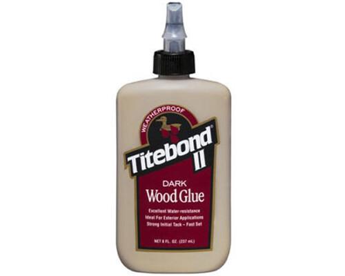 disperzní lepidlo na tmavé dřevo Titebond Premium Dark D3, 237ml