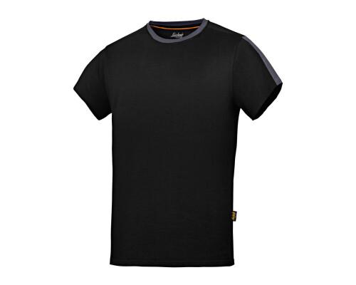 Tričko s krátkým rukávem All-Round-Work, černá